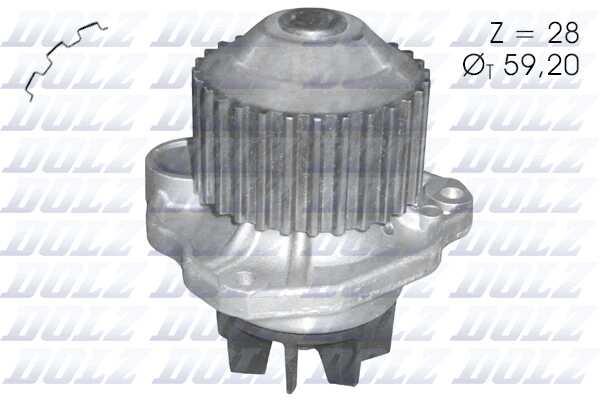 Topran 720 171 interruptor de temperatura ventilador de radiador PSA